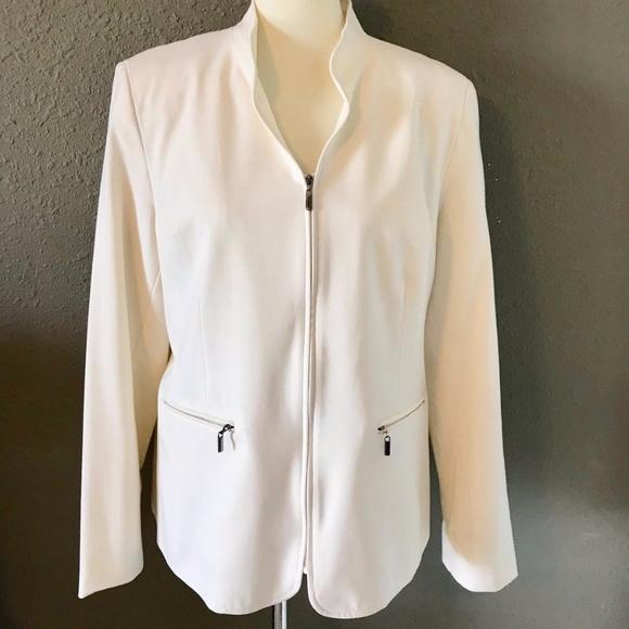 Amanda Smith Jackets & Blazers - Creme Jacket/Blazer by Amanda Smith ~ Size 12